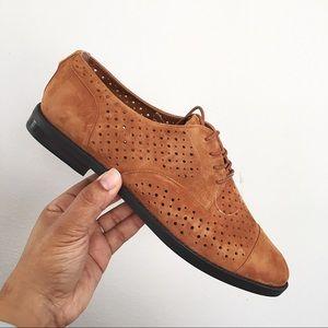 LAUREN Ralph Lauren Marian Brown Oxford Shoes
